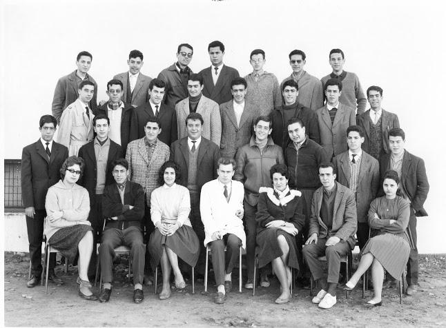 1960-1961 scex 2 professeur G. BECHON