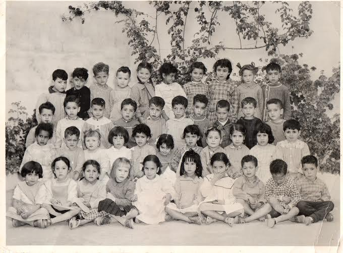 Ecole maternelle benzaghou ex rue de fez tlemcen annee scolaire 1957 1958