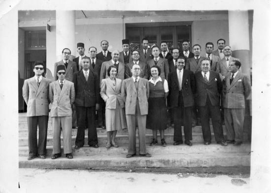 Enseignants de l ecole decieux de l annee 1950 51