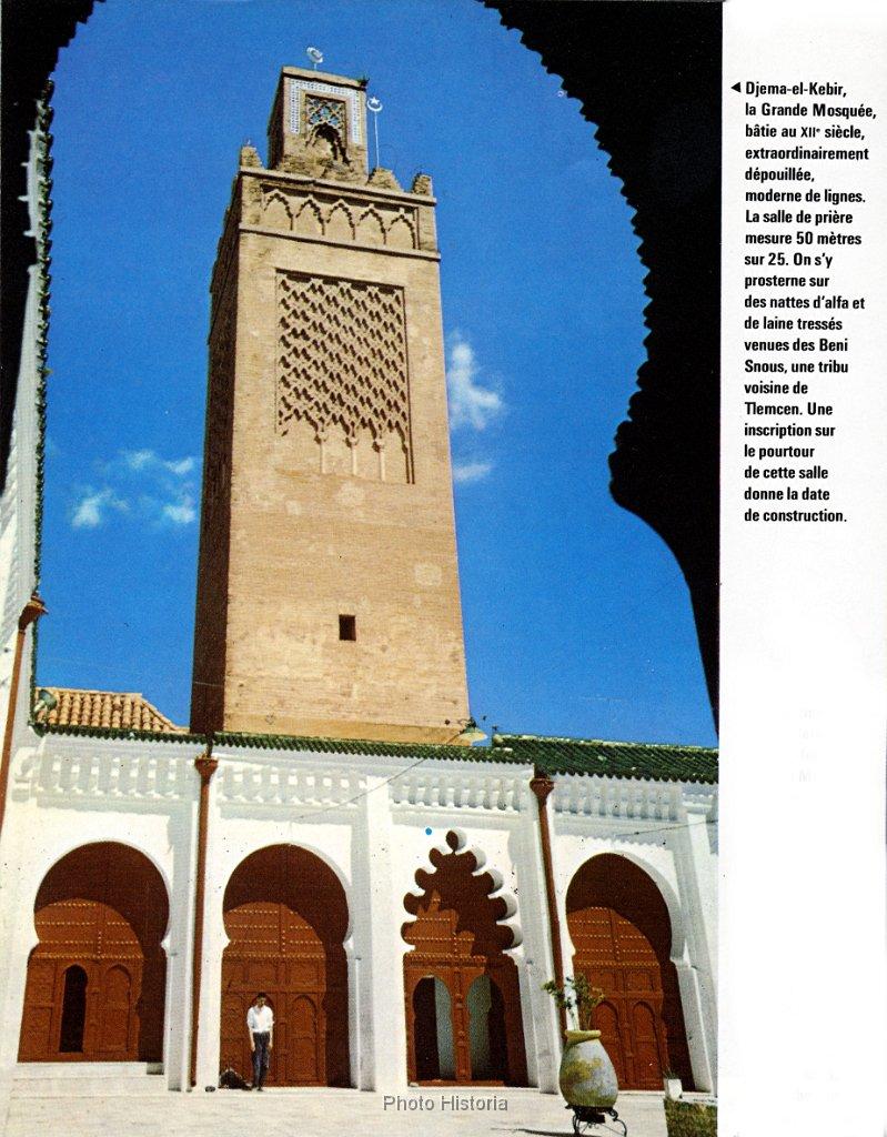 La grande mosquee de tlemcen n 215