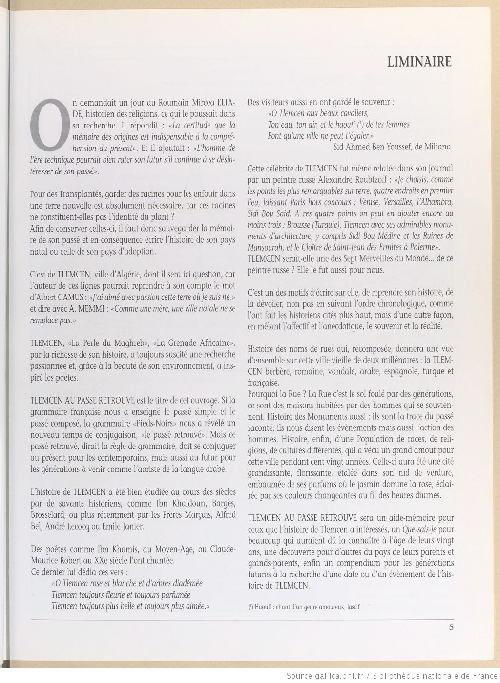Tlemcen au passe retrouve abadie louis bpt6k3331213r 3
