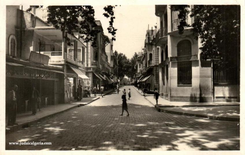 Tlemcen rue de france annees1950